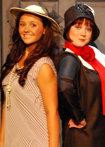 Brianna Weaver and Molly Will as Miss Dorothy and Millie Dillmount  Photo