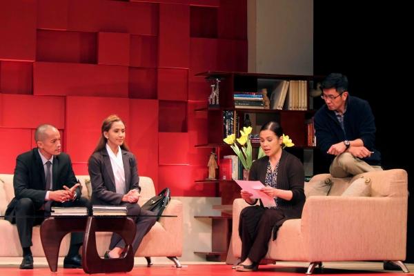 Art Acuna, Menchu Lauchengco-Yulo, Lea Salonga, Adrian Pang  Photo