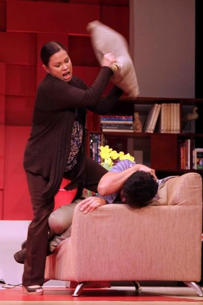 Photo Flash: First Look at Lea Salonga in GOD OF CARNAGE in Manila