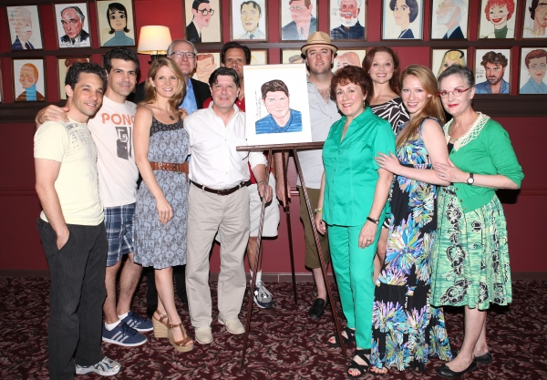 Kelli O'Hara, Michael McGrath, Terry Beaver, Michael Martin, Chris Sullivan, Judy Kaye and the cast