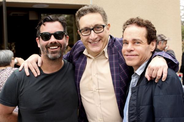Duncan Sheik, Moises Kaufman and Steven Sater