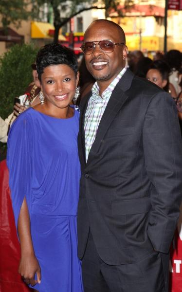 DJ Jazzy Jeff & wife Lynette Townes Photo