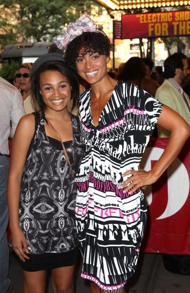 Amel Larrieux & Daughter