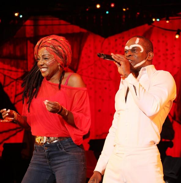 Paulette Ivory & Sahr Ngaujah