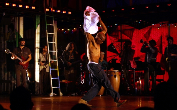 Bill T. Jones  at Inside FELA!'s Opening Night Curtain Call!