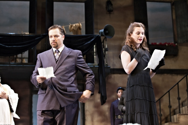 Photo Flash: First Look at Pennsylvania Shakespeare Festival's MUCH ADO ABOUT NOTHING, Opening Tonight