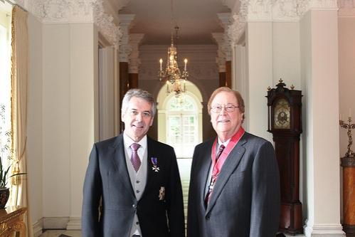 Photo Flash: Bob Boyett Made Honorary Commander