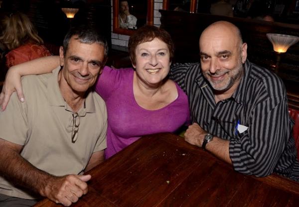 Richard Romangnoli, Cheryl Faraone and Jim Petosa Photo