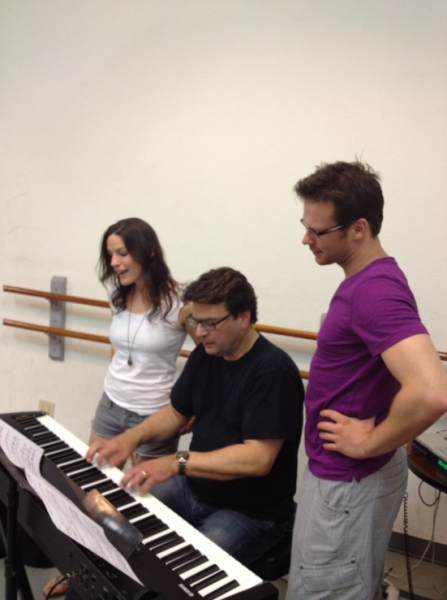 Photo Flash: Nicolas Dromard, Carrie Manolakos, Leah Horowitz & More Rehearse for DREAM THE IMPOSSIBLE DREAM