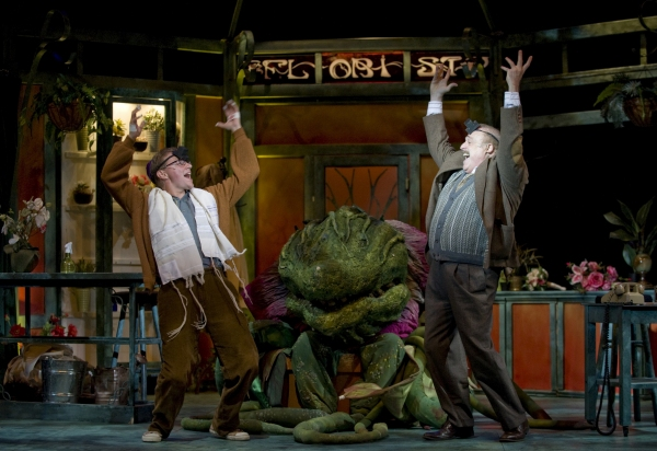 Jonathan Lee Cunningham & Peter Kevoian with Audrey II