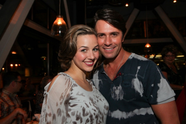 Jessica Grové and Eric Kunze at First Look at Opening Night of Music Circus' THE LITTLE MERMAID