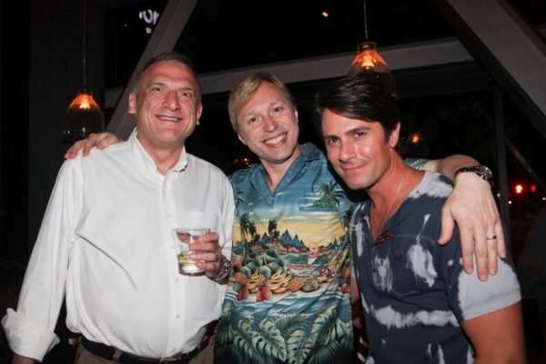 Ron Wisniski, Craig Horness, and Eric Kunze  at First Look at Opening Night of Music Circus' THE LITTLE MERMAID