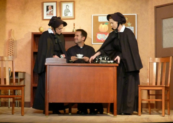 Photo Flash: Joanna Churgin, Matt Landig & More in Kentwood Players' DOUBT