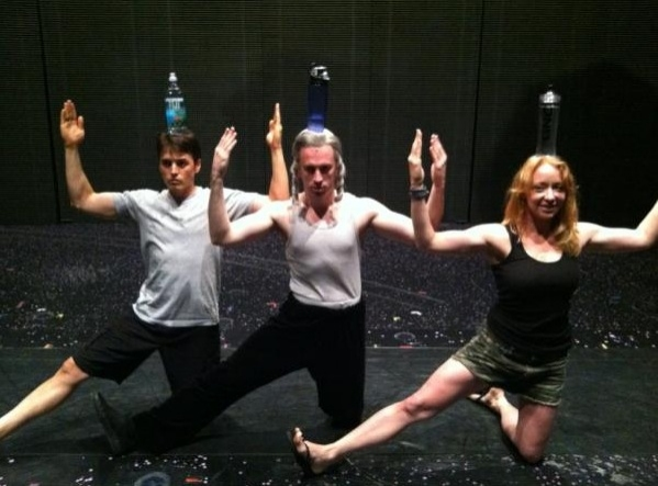 GHOST ON BROADWAY's Stephen Carrasco and Company Photo