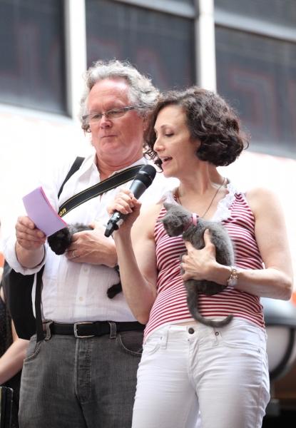 Bebe Neuwirth and her husband, Chris Calkins