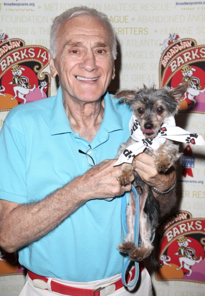 Dick Latessa (The Lyons)  at Bernadette Peters, Mary Tyler Moore & Broadway Stars Backstage at Broadway Barks 14!