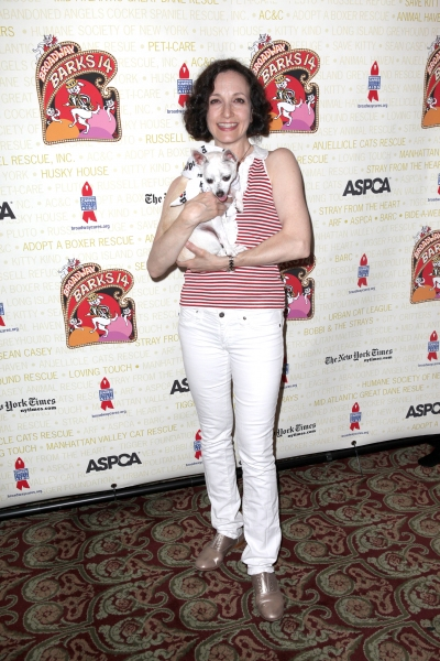 Bebe Neuwirth   at Bernadette Peters, Mary Tyler Moore & Broadway Stars Backstage at Broadway Barks 14!