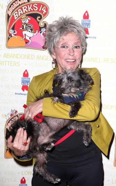 Rita Moreno  at Bernadette Peters, Mary Tyler Moore & Broadway Stars Backstage at Broadway Barks 14!