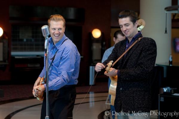 Lee Ferris and Derek Keeling