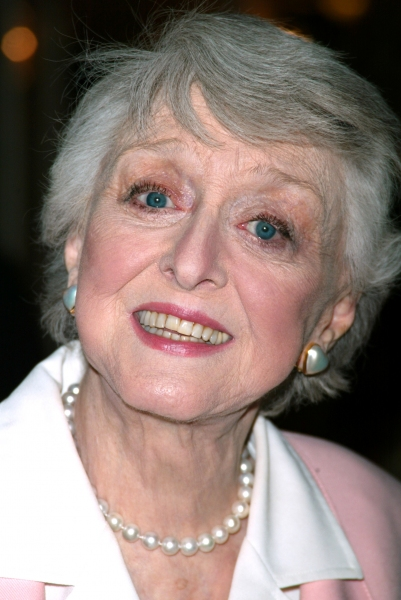 Celeste Holm Attending The American Theatre Wing's Annual Luncheon at the Pierre Hotel, New York City. April 14, 2003