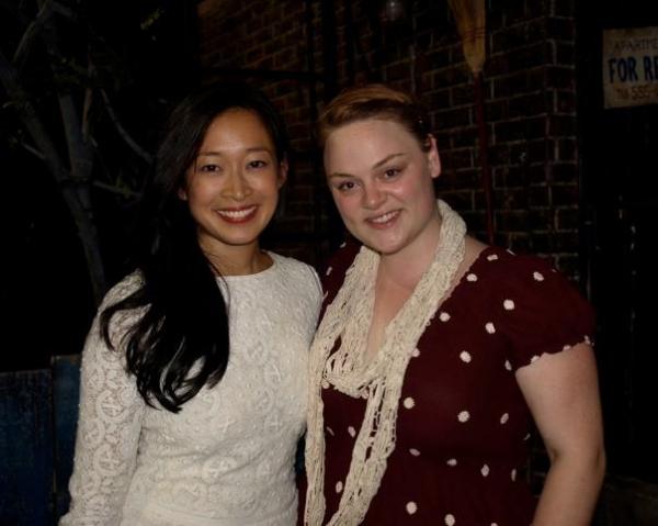 Camille Chen and Teya Patt