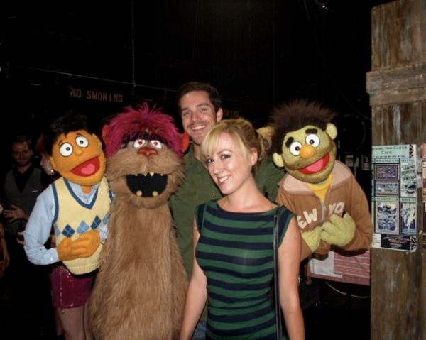 Photo Flash: First Look at 3-D Theatrical's AVENUE Q Opening Night Cast Party