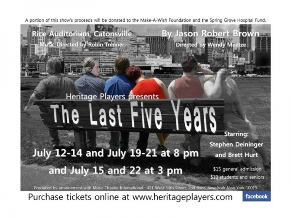 Photo Flash: First Look at Heritage Players' THE LAST FIVE YEARS