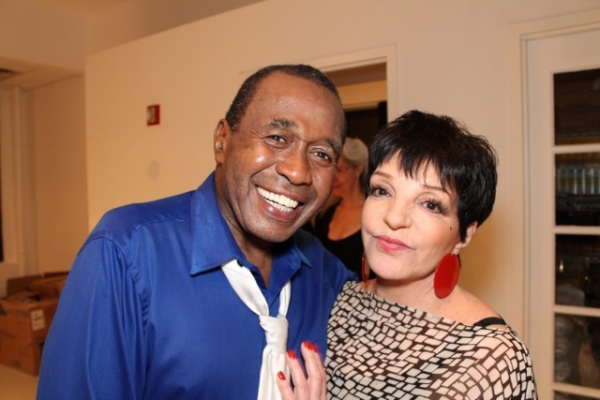 Ben Vereen, Liza Minnelli at Liza Minnelli, Chita Rivera and Bebe Neuwirth Visit Ben Vereen at 54 Below!