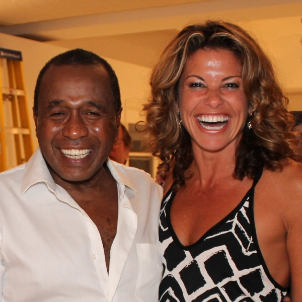 Ben Vereen, Rachelle Rak at Liza Minnelli, Chita Rivera and Bebe Neuwirth Visit Ben Vereen at 54 Below!