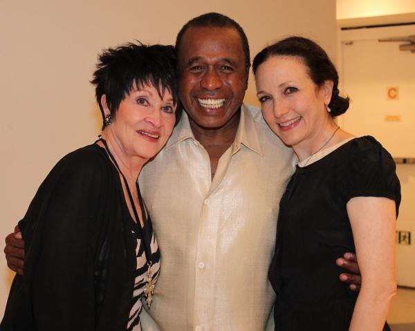 Photo Flash: Liza Minnelli, Chita Rivera and Bebe Neuwirth Visit Ben Vereen at 54 Below!