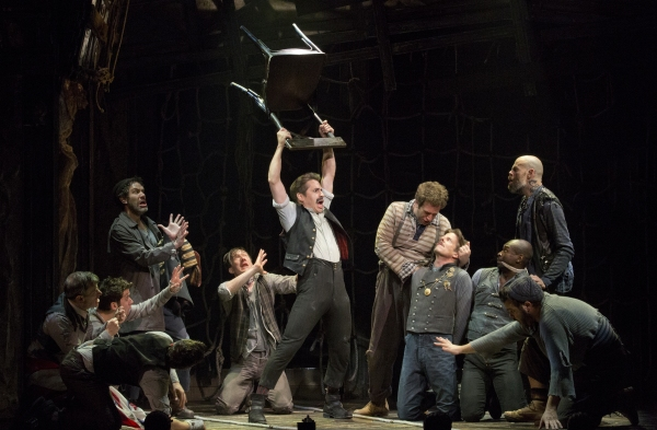 Photo Flash: First Look at Matthew Saldivar as 'Black Stache' in PETER AND THE STARCATCHER!