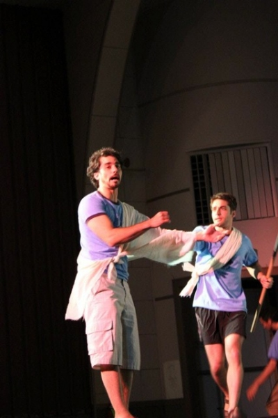 Aaron White and Mitchell Conway star as Iolaus and Hercules
