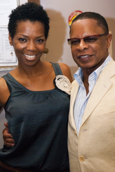Vanessa Williams and Stephen Byrd