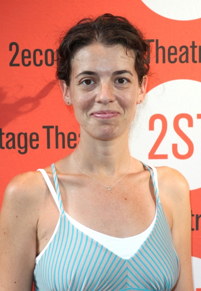 Quiara Alegria Hudes  at Jim Parsons, Aaron Tveit and More at DOGFIGHT Opening Night!