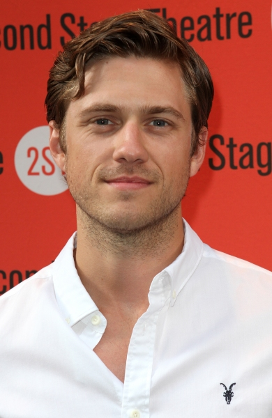 Aaron Tveit  at Jim Parsons, Aaron Tveit and More at DOGFIGHT Opening Night!