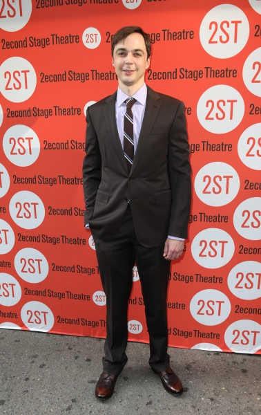 Jim Parsons at Jim Parsons, Aaron Tveit and More at DOGFIGHT Opening Night!