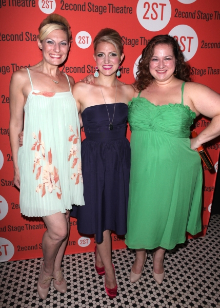 Becca Ayers, Annaleigh Ashford & Dierdre Friel at DOGFIGHT Celebrates Opening Night - After Party!