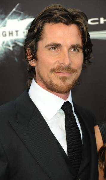 Christian Bale at Anne Hathaway, Christian Bale at 'BLACK KNIGHT' Premiere in NYC