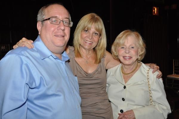 Richard Terrano, Marylee Terrano and Anita Jaffe