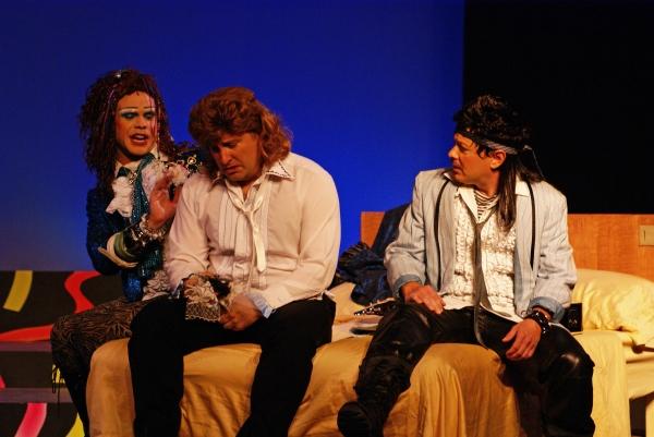 Jamey Grisham, Eric Parker, Roy Brown
