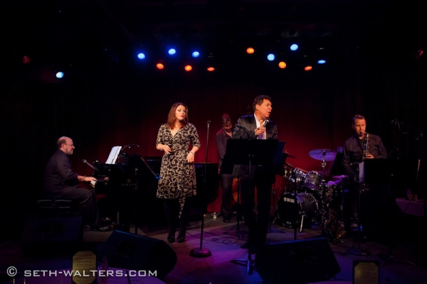 Photo Flash: Jane Monheit, Clint Holmes, and More Visit FRANK & FRIENDS at Birdland