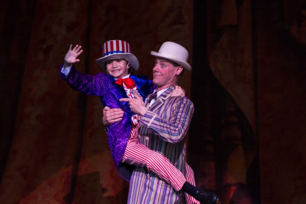 Photo Flash: First Look at TUTS' YANKEE DOODLE DANDY, Opening 7/17