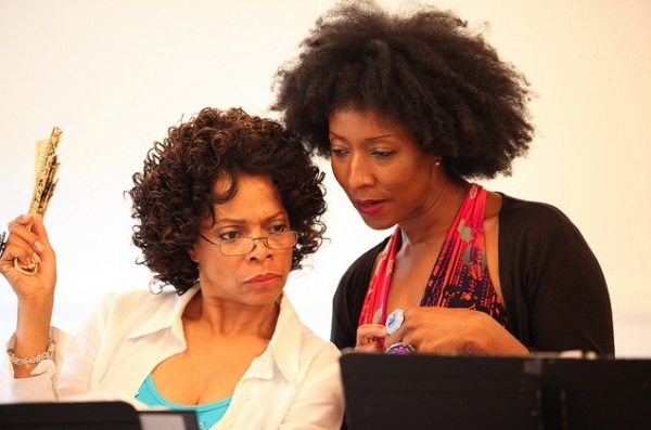 Photo Flash: Denise Burse, Harriet D. Foy and More Rehearse Powerhouse Theater's THE HOUSE THAT WILL NOT STAND