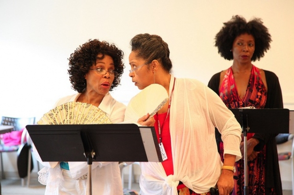 Photos: Denise Burse, Harriet D. Foy and More Rehearse Powerhouse Theater's THE HOUSE THAT WILL NOT STAND