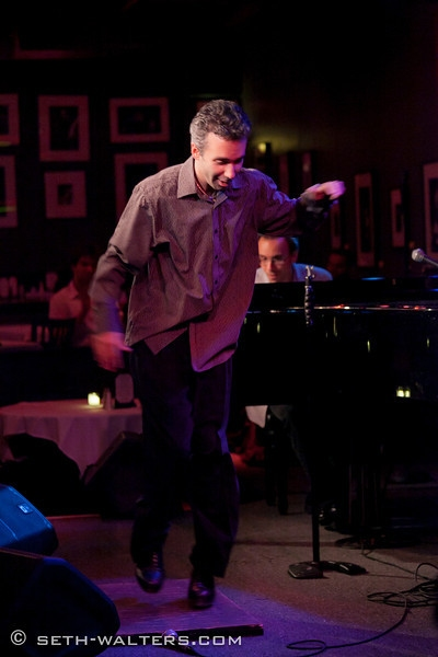 Photo Flash: Clint Holmes, CENTRAL AVENUE BREAKDOWN and More at Jim Caruso's Cast Party at Birdland