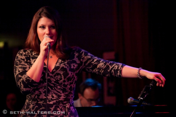Jane Monheit at Clint Holmes, CENTRAL AVENUE BREAKDOWN and More at Jim Caruso's Cast Party at Birdland