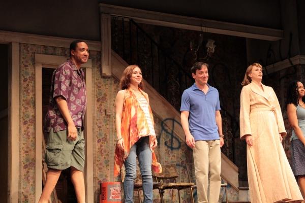Damon Gupton, Sarah Goldberg, Jeremy Shamos, Christina Kirk Photo