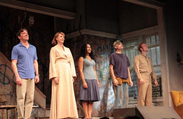 Jeremy Shamos, Christina Kirk, Crystal A Dickinson, Frank Wood, Brendan Griffin Photo