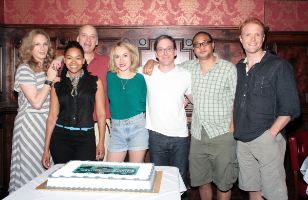 Christina Kirk, Crystal A. Dickinson, Frank Wood, Sarah Goldberg, Jeremy Shamos, Damo Photo