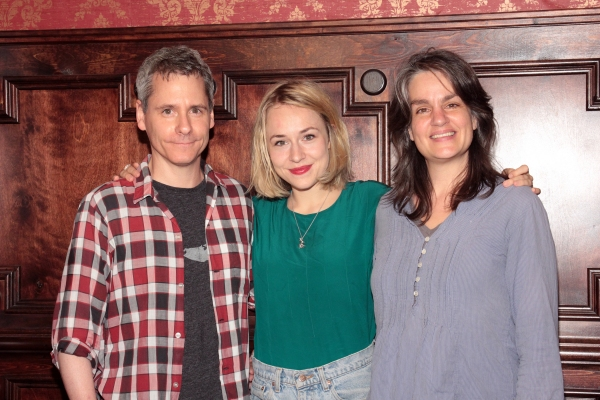 Bruce Norris, Sarah Goldberg, Pam MacKinnon at CLYBOURNE PARK Celebrates 100 Performances and Welcomes Sarah Goldberg